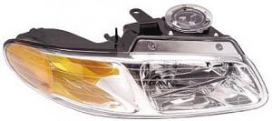1996-1999 Chrysler Town & Country Headlight Assembly - Right (Passenger)