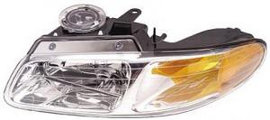 1996-1999 Dodge Caravan Headlight Assembly - Left (Driver)