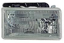 1991-1996 Dodge Dakota Headlight Assembly (with Aero Package) - Right (Passenger)