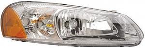 2003-2004 Chrysler Sebring Headlight Assembly - Right (Passenger)