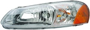 2003-2004 Chrysler Sebring Headlight Assembly - Left (Driver)