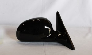 1992-1995 Honda Civic Side View Mirror (Sedan / Power Remote / Non-Heated / Fold-Away / Black) - Right (Passenger)
