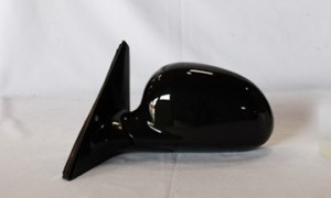 1992-1995 Honda Civic Side View Mirror (Sedan / Power Remote / Non-Heated / Fold-Away / Black) - Left (Driver)