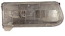 1997-1997 Mercury Mountaineer Headlight Assembly - Right (Passenger)