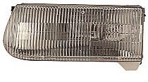 1997-1997 Mercury Mountaineer Headlight Assembly - Left (Driver)