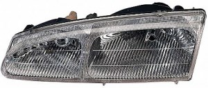 1996-1997 Mercury Cougar Headlight Assembly - Left (Driver)