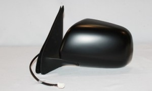 2005-2010 Toyota Tacoma Side View Mirror (Non-Heated / Power Remote / Black) - Left (Driver)