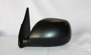 2001-2007 Toyota Sequoia Side View Mirror (Non-Heated / Power Remote / Black / Sequoia SR5/Limited) - Left (Driver)