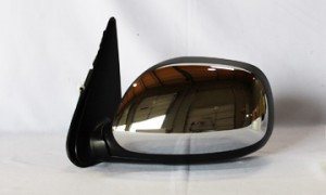 2003-2006 Toyota Tundra Pickup Side View Mirror (Non-Heated / Power Remote / Chrome / Tundra SR5) - Left (Driver)