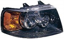 2003-2006 Ford Expedition Headlight Assembly (with Black Bezel) - Right (Passenger)