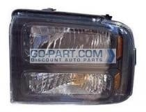 2005-2007 Ford F-Series Super Duty Pickup Headlight Assembly - Left (Driver)