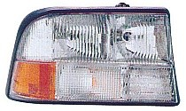 1998-2004 GMC Sonoma Headlight Assembly (without Fog Lamps) - Right (Passenger)