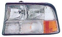 1998-2004 GMC Sonoma Headlight Assembly (without Fog Lamps) - Left (Driver)