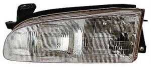 1993-1997 Geo Prizm Headlight Assembly - Left (Driver)