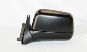 2000-2004 Nissan Xterra Side View Mirror (Manual / Non-folding / Black) - Left (Driver)