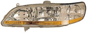 2001-2002 Honda Accord Headlight Assembly - Left (Driver)
