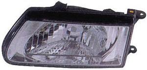 2000-2002 Isuzu Rodeo Headlight Assembly - Left (Driver)