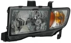 2006-2008 Honda Ridgeline Headlight Assembly - Left (Driver)