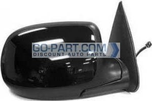 2002-2002 Chevrolet Chevy Avalanche Side View Mirror (Heated Power Remote / Manual Folding / without Puddle Lamp) - Right (Passenger)