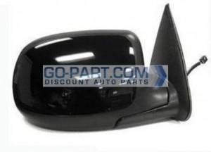 2002-2002 Chevrolet Chevy Avalanche Side View Mirror (Heated Power Remote / Manual Folding / with Puddle lamp) - Right (Passenger)