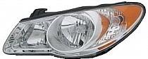 2007-2009 Hyundai Elantra Headlight Assembly - Left (Driver)