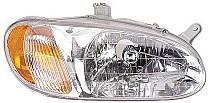 1998-2001 Kia Sephia Headlight Assembly - Right (Passenger)