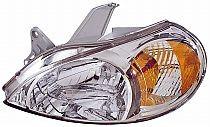 2002-2002 Kia Rio Headlight Assembly - Left (Driver)