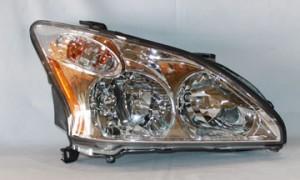 2007-2009 Lexus RX350 Headlight Assembly - Right (Passenger)