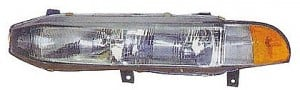1994-1996 Mitsubishi Galant Headlight Assembly - Left (Driver)