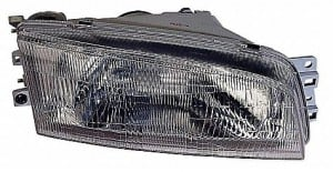 1997-2002 Mitsubishi Mirage Headlight Assembly (Sedan) - Left (Driver)