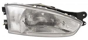 1997-2002 Mitsubishi Mirage Headlight Assembly (Coupe) - Right (Passenger)