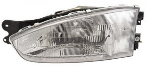 1997-2002 Mitsubishi Mirage Headlight Assembly (Coupe) - Left (Driver)