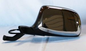 1992-1996 Ford Bronco Side View Mirror (Power Remote / Paddle Design / Non-Heated / without Performance Package) - Left (Driver)