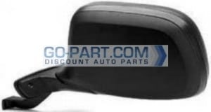 1997-1997 Ford F-Series Super Duty Pickup Side View Mirror (Power Remote / Paddle Design / without Signal / with Performance Package) - Left (Driver)