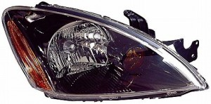 2004-2007 Mitsubishi Lancer Headlight Assembly (Excluding Evolution / Wagon / with ABS) - Right (Passenger)