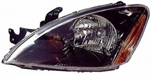 2004-2007 Mitsubishi Lancer Headlight Assembly (Excluding Evolution / Wagon / with ABS) - Left (Driver)