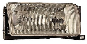 1993-1995 Nissan Quest Van Headlight Assembly - Right (Passenger)