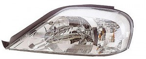 2000-2002 Mercury Sable Headlight Assembly - Left (Driver)