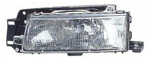 1990-1993 Mazda Protege Headlight Assembly - Left (Driver)