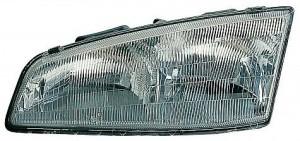 1992-1995 Pontiac Grand Am Headlight Assembly - Left (Driver)
