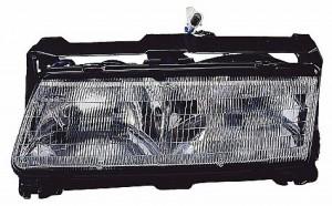 1990-1990 Pontiac Grand Prix Headlight Assembly - Left (Driver)