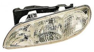1996-1998 Pontiac Grand Am Headlight Assembly - Left (Driver)