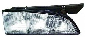 1992-1993 Pontiac Bonneville Headlight Assembly - Left (Driver)