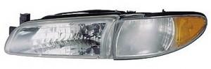 1997-2003 Pontiac Grand Prix Headlight Assembly - Left (Driver)