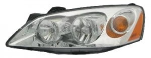 2005-2010 Pontiac G6 Headlight Assembly - Left (Driver)