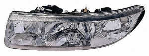1997-2000 Saturn S Coupe Headlight Assembly - Left (Driver)