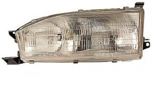 1992-1994 Toyota Camry Headlight Assembly - Left (Driver)