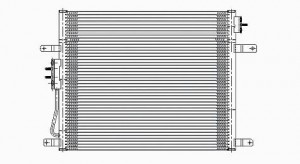 1997-2002 Ford Mustang A/C (AC) Condenser