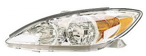 2002-2004 Toyota Camry Headlight Assembly (LE/XLE / Bright) - Left (Driver)