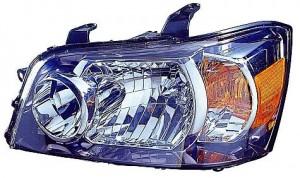2004-2006 Toyota Highlander Headlight Assembly - Left (Driver)